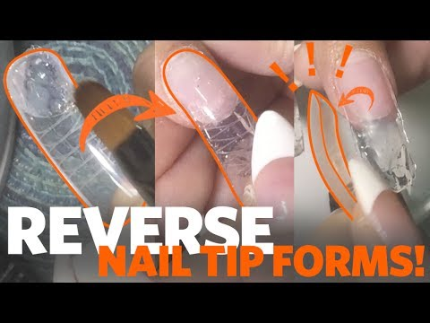 Sculpt Perfect Gel Nails with Bio-Swift Reverse Nail Tip Forms from Bio Seaweed Gel