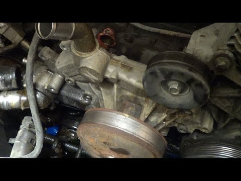 2003 Suburban Water Pump Replacement