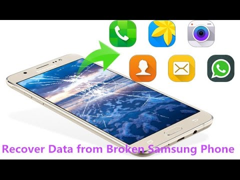 How to Recover Data from Samsung with Broken/Black/Blank Screen