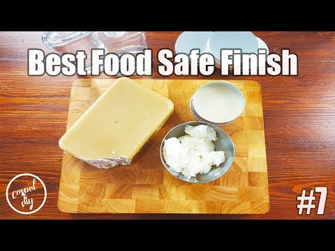 Best food safe finish for cutting boards, butchers block, cheese boards