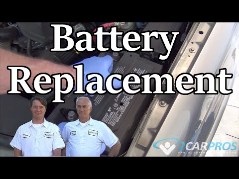 Battery Replacement Ford Explorer 2002-2005
