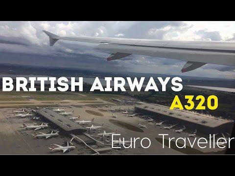 British Airways Economy Class Flight Prague, A320 Euro Traveller Trip Report