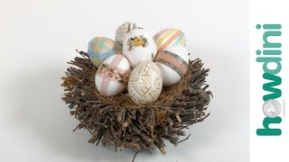Easter Crafts: Washi Tape Easter Eggs