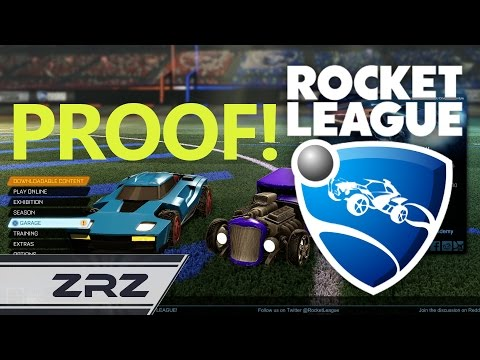 PROOF: Rocket League Cars ARE Different - A Comparison - ZRZ