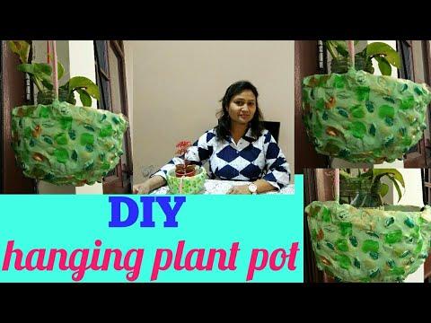 DIY ideas,do it yourself,hanging plant pot,anvesha,s creativity