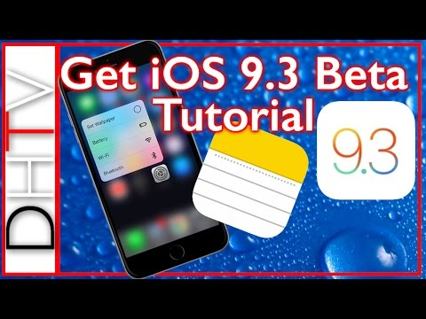 How To Install iOS 9.3 Beta - iPhone, iPad, iPod Touch