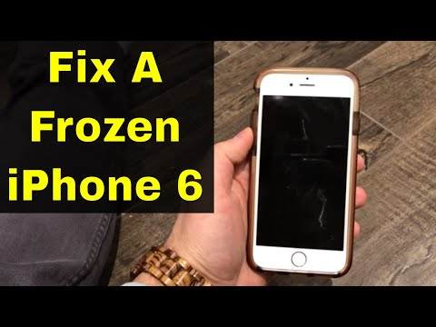 How To Fix An iPhone 6 Frozen Screen-Can't Swipe Or Unresponsive