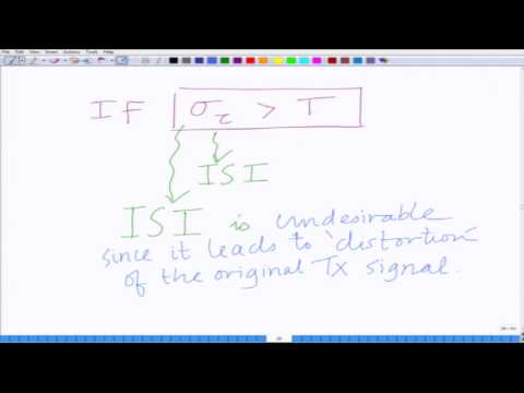 Lecture 22: Delay Spread and Inter Symbol Interference