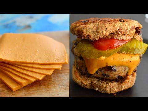 4 Vegan Cheese Recipes - Melts, Sliced, Shredded, Stretchy