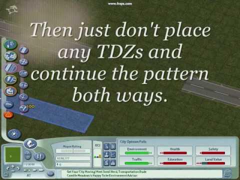 Sim City 4 Tutorial-How To Create Custom Airports-Runways