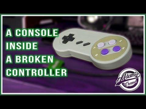 Turn a broken SNES controller into a Gaming Console!