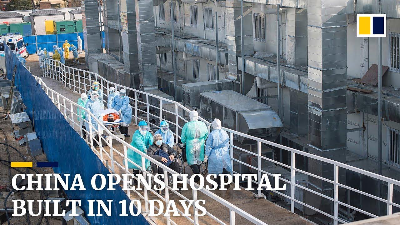 China opens coronavirus hospital built in 10 days