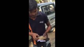 Flipkart Fraud  -- Empty box delivered instead of Product  ..BUYER RECORDED ON CAMERA