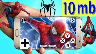 25 MB ppsspp spider-man game download android device high
