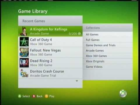 Free Xbox Live Arcade Games (TUT)
