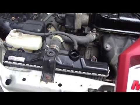 How to change coolant fluid Honda Civic radiator. Years 1991 to 1996