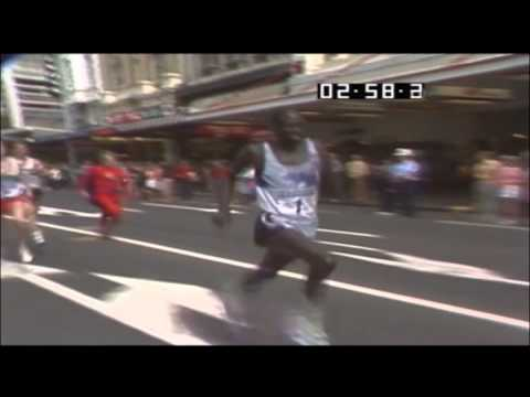 World's Fastest Mile Ever By A Human!  Queen Street Auckland.