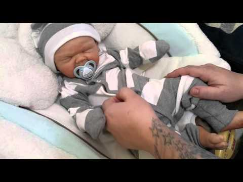 Can he take a full nipple? Silicone baby boy! Mouth details! Reborn Baby Doll! Nlovewithreborns2011