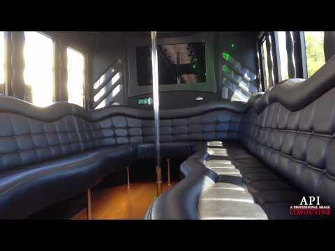 API Limousine Sacramento 25 passenger Party Bus Quick View Video.