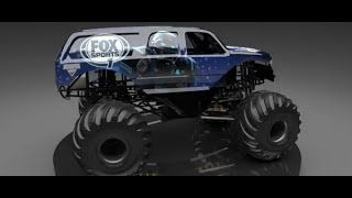 Monster Jam - Feld Motor Sports and FOX Sports Unveil the Cleatus Monster Jam Truck!