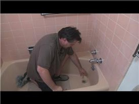 Bathroom Fix-It Tips : How to Fix a Garden Tub Stopper
