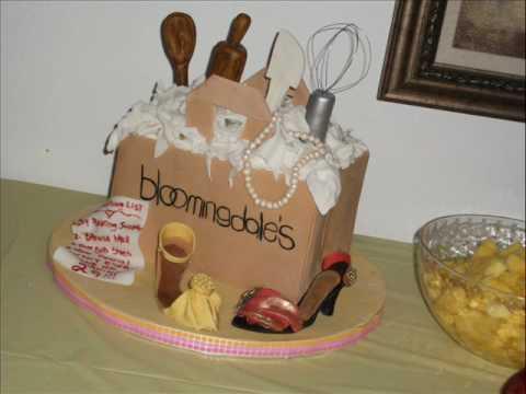 Shopping Bag Birthday cake