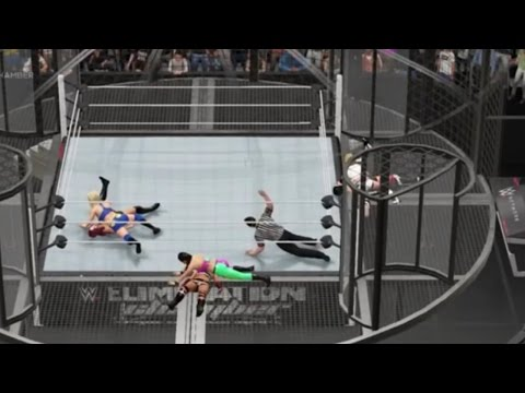 The Referee Forgets How To Count (WWE 2K16 Glitch)