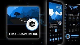 CMX - Dark Polygon Sea for KLWP | Theme (Android