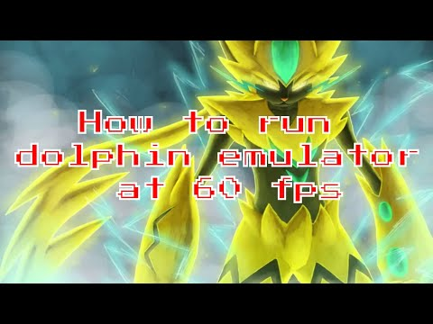 (2018) How to run dolphin emulator at 60 fps on mac