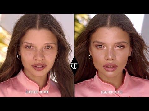 Rose Gold Summer Makeup Look Perfect For Natural Light   Charlotte Tilbury