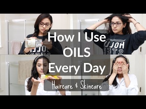 How I Use Organic Oils EVERYDAY | Haircare & Skincare Routine with Oil