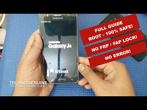 How to Root Samsung J5 on Marshmallow 6 0 1