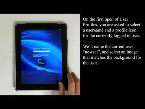 User Profiles for iPad: User Switching and Multiple Account Support for iOS