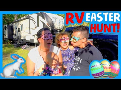 🐰RV EASTER EGG HUNT 🥚 How To Celebrate Easter In An RV 🐇
