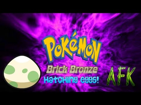 Roblox Pokemon Brick Bronze Extras- Hatching Eggs While AFK!