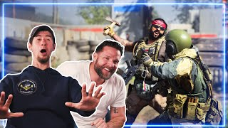Marines REACT to Call of Duty: Modern Warfare (Multiplayer) | Experts React