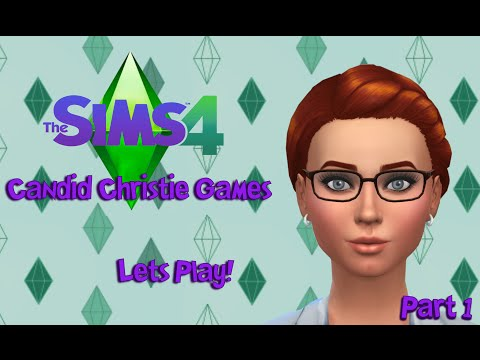 Let's Play the Sims 4    Part 1 - Getting Settled!