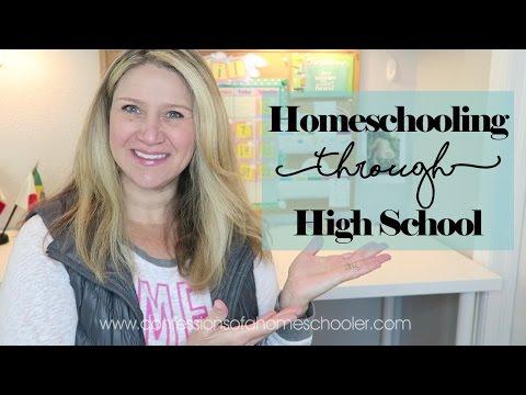 Tip Tuesday: How Homeschool Through High School