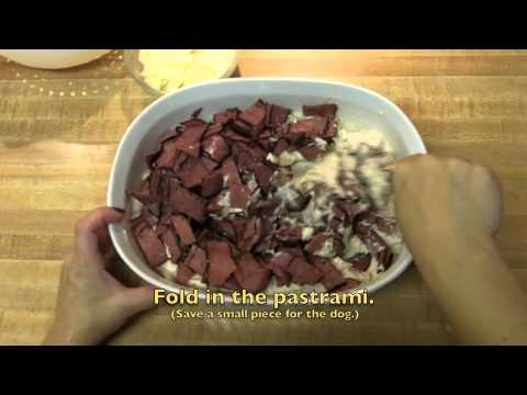 Hot Pastrami Reuben Dip with Russian style dressing and cheese