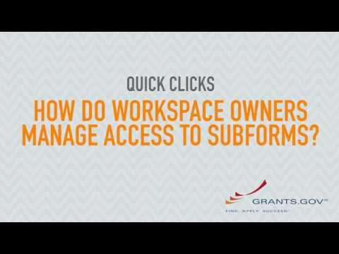 Quick Clicks: How Do Workspace Owners Manage Access to Subforms?