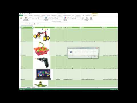 Insert picture in Excel cell automatically - Excel Image Assistant AddIn - IMAGE-XLS