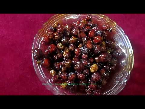 Andhra Style Star Gooseberry Jam || Step by Step Process || Mamma's Kitchen Adda ||