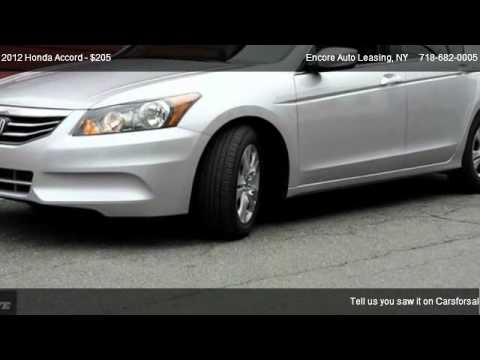 Honda Accord CLICK HERE FOR ALL MODELS  @ Encore Auto Leasing