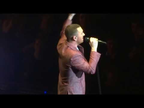 Can I Lay By You Side - Sam Smith LIVE O2 6th April 2018 WOW