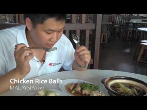 Malacca Chicken Rice Balls