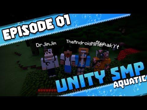 THE EXPEDITION BEGINS!!  - UNITY SMP AQUATIC Season 3 Ep.1 - Minecraft PE (Bedrock Edition)