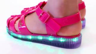 Sandália Infantil Grendene Barbie com Led - 8040224790