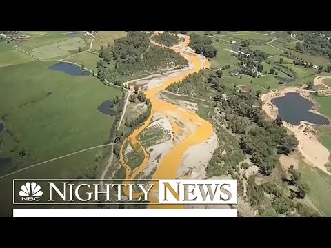 Mine Cleanup Crew Releases Toxic Wastewater Into a Colorado River   NBC Nightly News