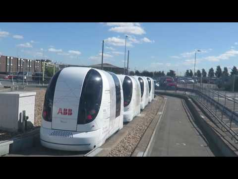 London Heathrow Airport Self Driving Pods to Business Parking