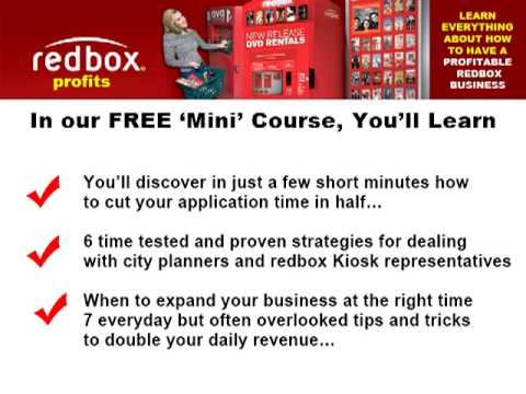 Redbox business franchise